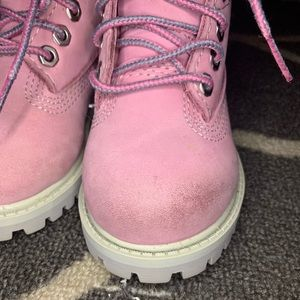 Timberland Shoes - Pink Timberland Boots (Toddler 6)
